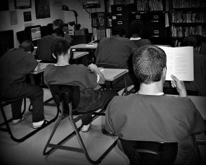 Students at McCracken Regional Juvenile Detention Center